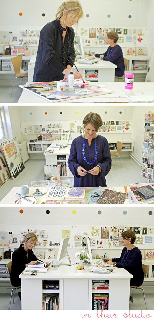 Creative Collaboration in Denmark • Sidsel Gaustadnes and Line Juhl Hansen