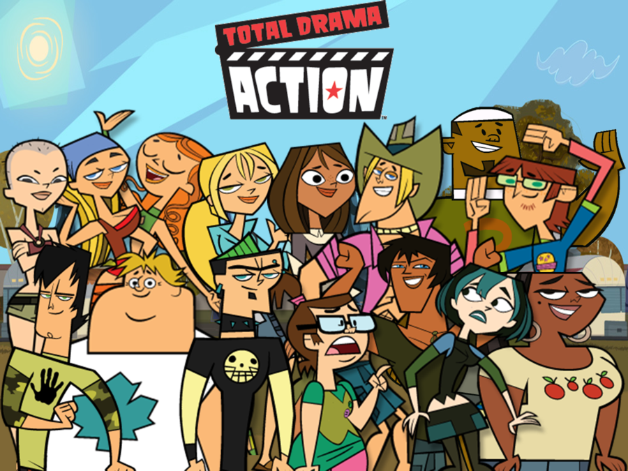 Total Drama Action | Cartoon, Cartoon tv, Total drama island