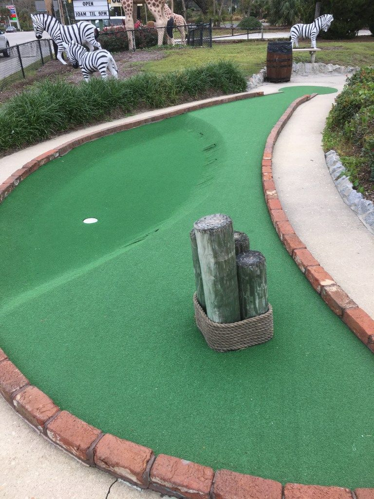 Jungle Safari Golf Hole 2 Presented by MiniGolfReviews