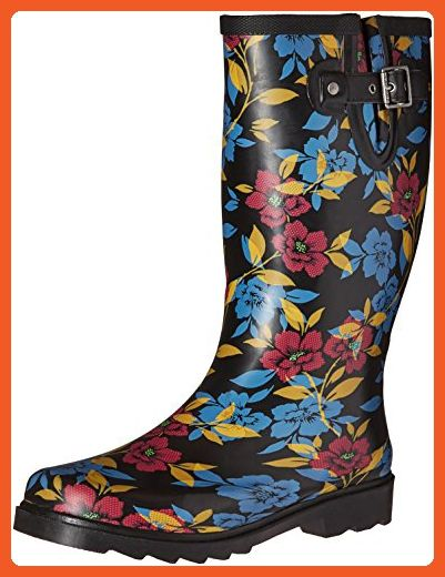 9dc3e5a4f053f Chooka Women s Waterproof Printed Tall Rain Boot