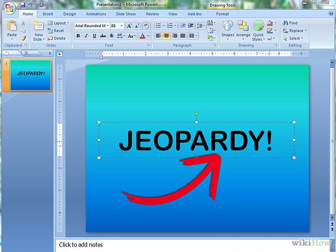 How To Make A Jeopardy Game On PowerPoint 13 Steps Made My Own For Speech