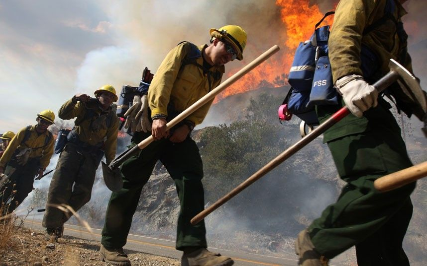 Pictures of the day 5 September 2012 Wildland fire