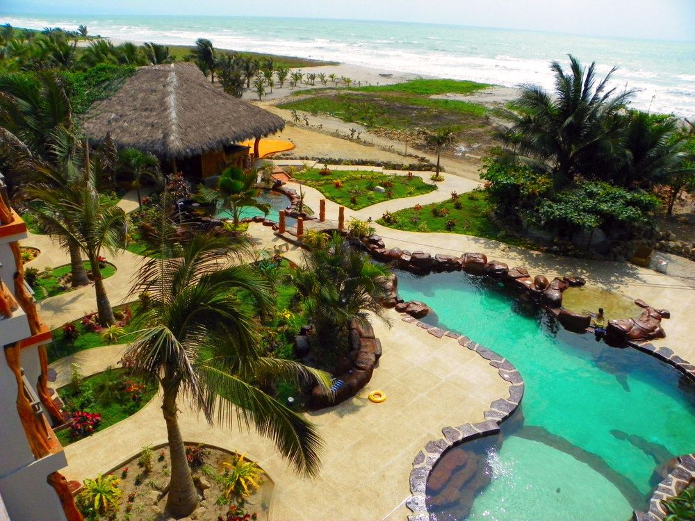 What A Great View From The Balcony Canoa Beach Hotel Ecuador