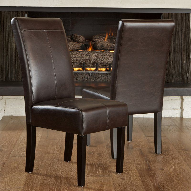Apple creek parsons chair dining chairs faux leather