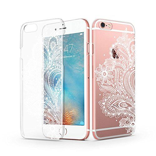 Amazoncom Iphone 6 6s Case Iphone 6 Clear Case Mosnovo White