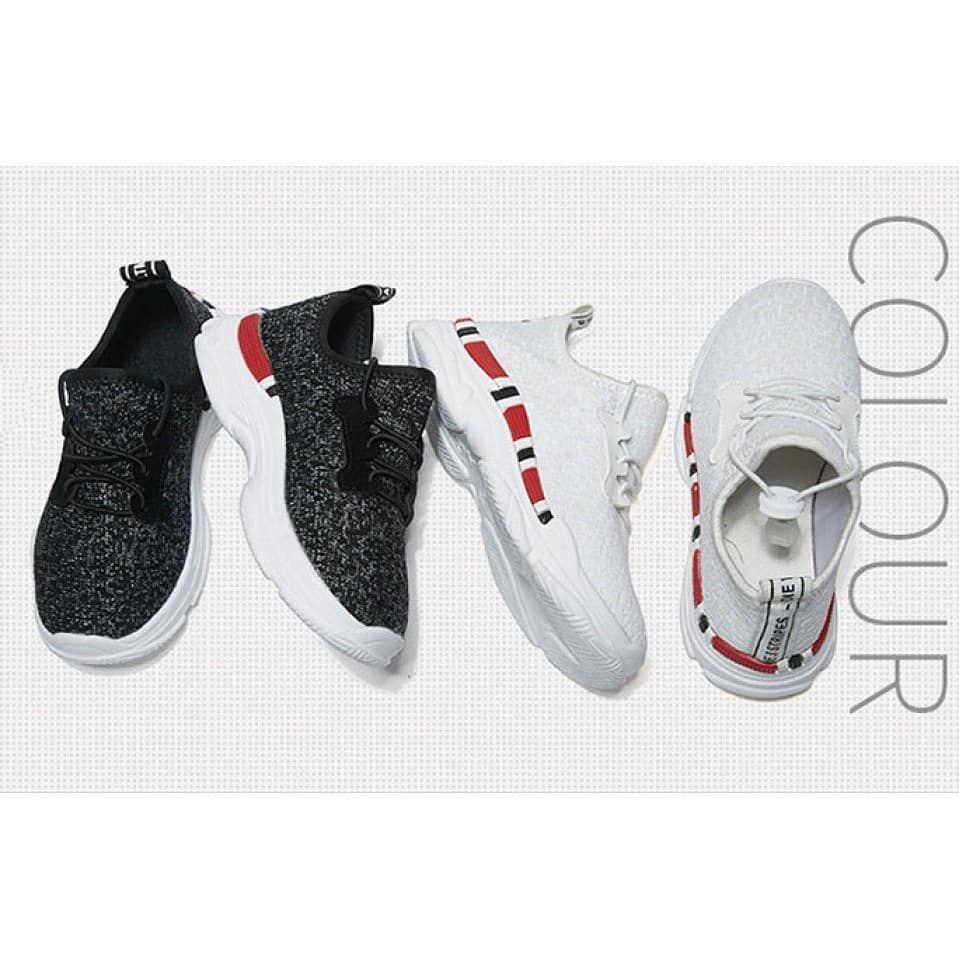 Rp 174 000 Rp 184 000 Glow In The Dark Elastic Sneakers Ready