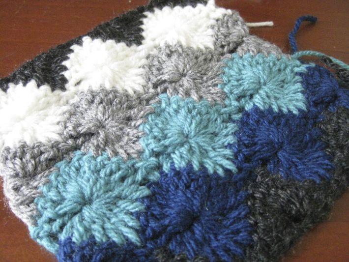 Resultado de imagem para Crochet Harlequin Blanket