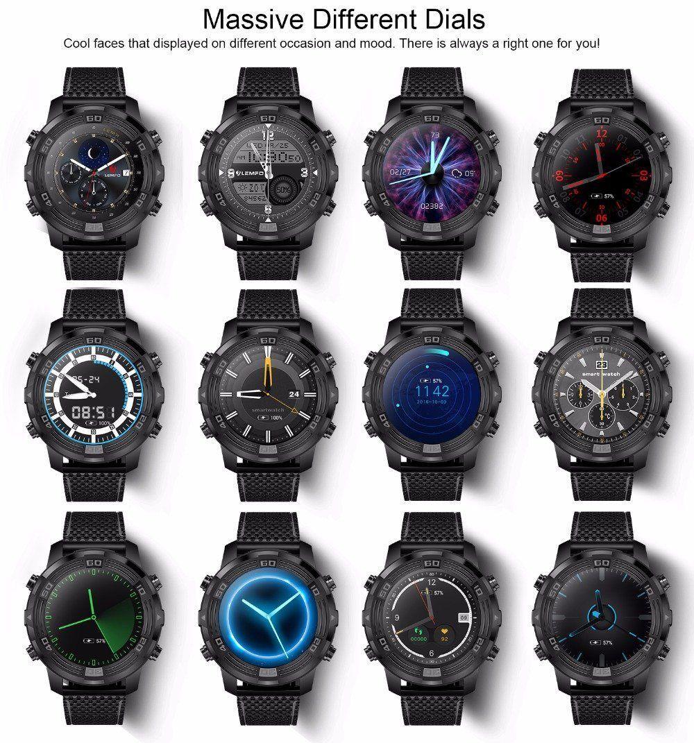 Lemfo Advanced Smartwatch Smartwatch waterproof, Smart
