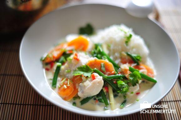 Thailändisches Fischcurry