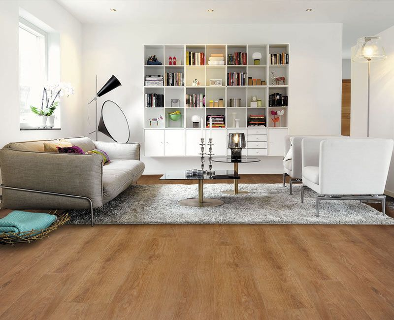 Columbian oak effect waterproof luxury vinyl click flooring