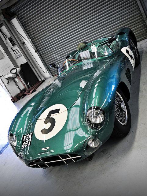 1957 Aston Martin DBR1 No.5