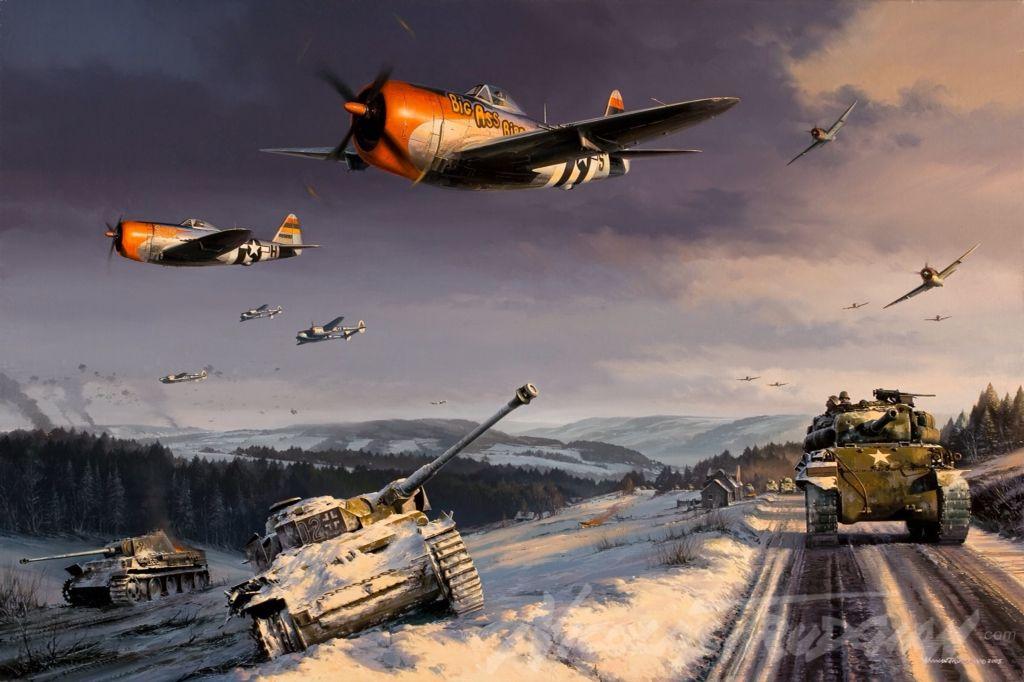 P-47's.
