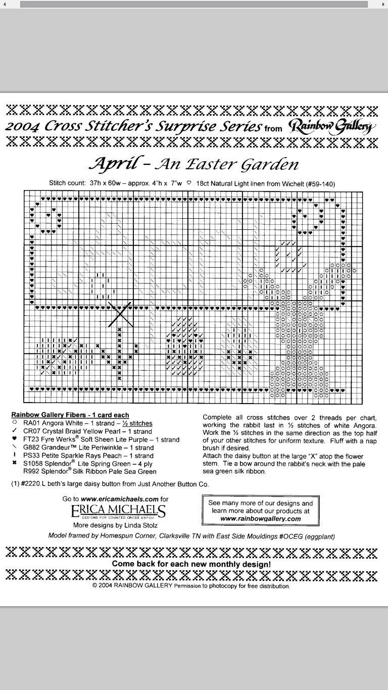 An Easter Garden - April #04 Design By: Erica Michaels