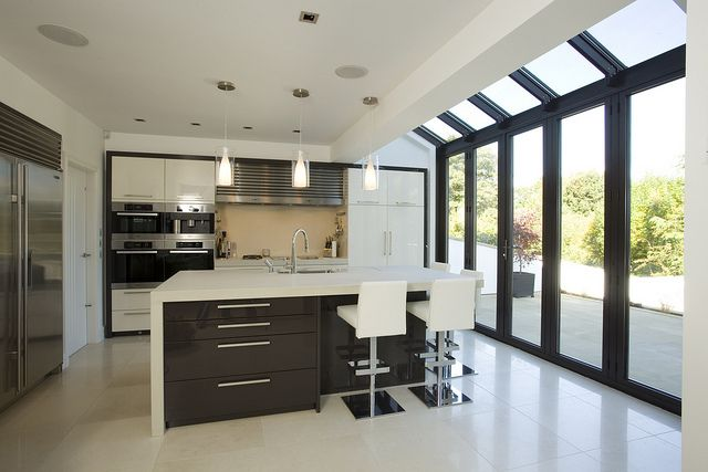 how to kitchen island huddersfield kitchen extension glass room 4377