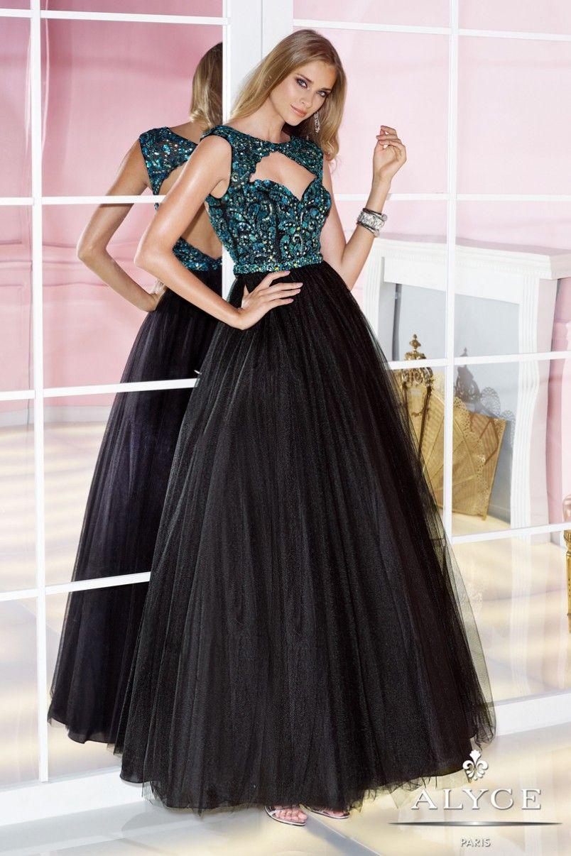 Alyce prom dress style full view alyce paris pinterest