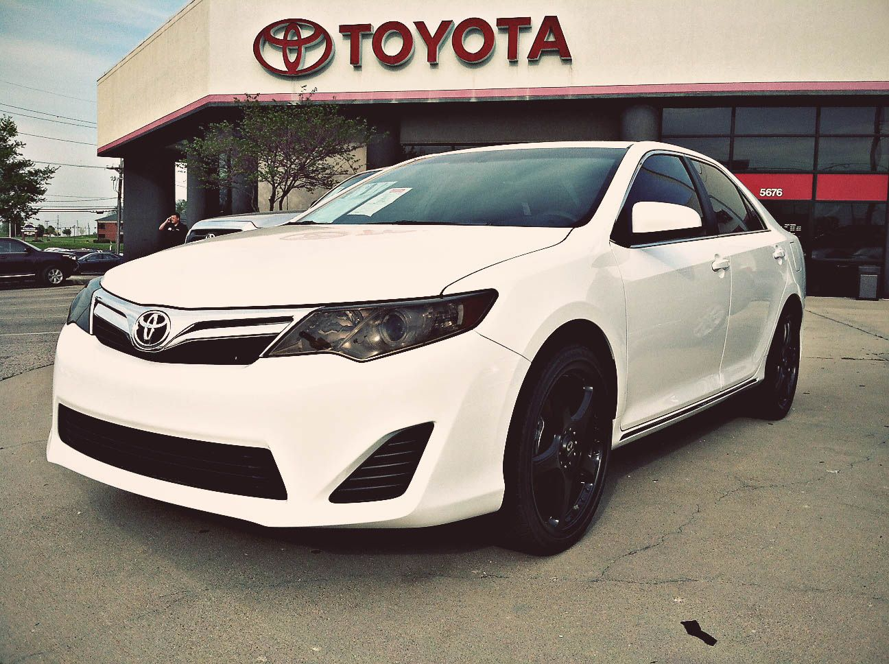 toyota camry that doesn't look like mine Camry 2012