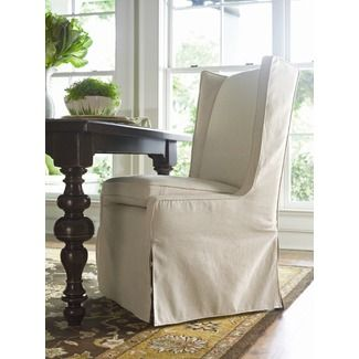 Love these Paula Deen upholstered chairs for the heads of the table