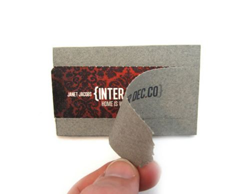 Perforated Business Cards An Innovative Way Of Getting Your Company Noticed Naldz Graphics Business Cards Creative Business Card Design Creative Fun Business Card Design