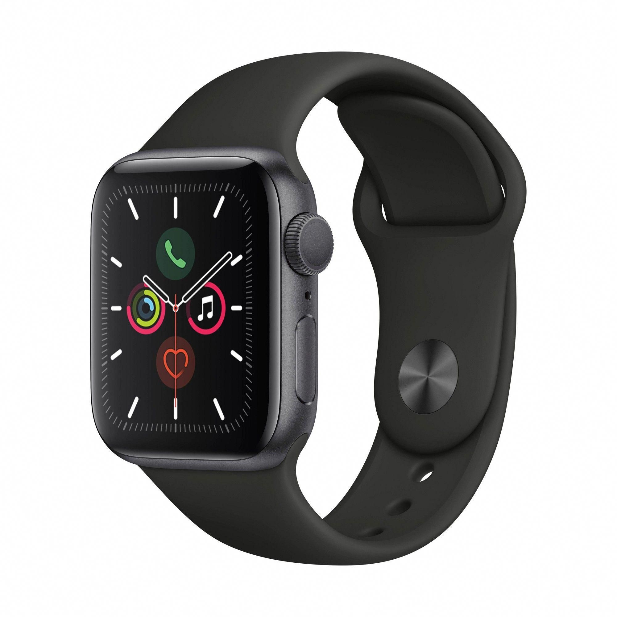 Apple Watch Series 5 GPS, 44mm Space Gray Aluminum Case