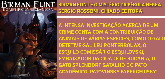 Birman Flint e o misterio da perola negra