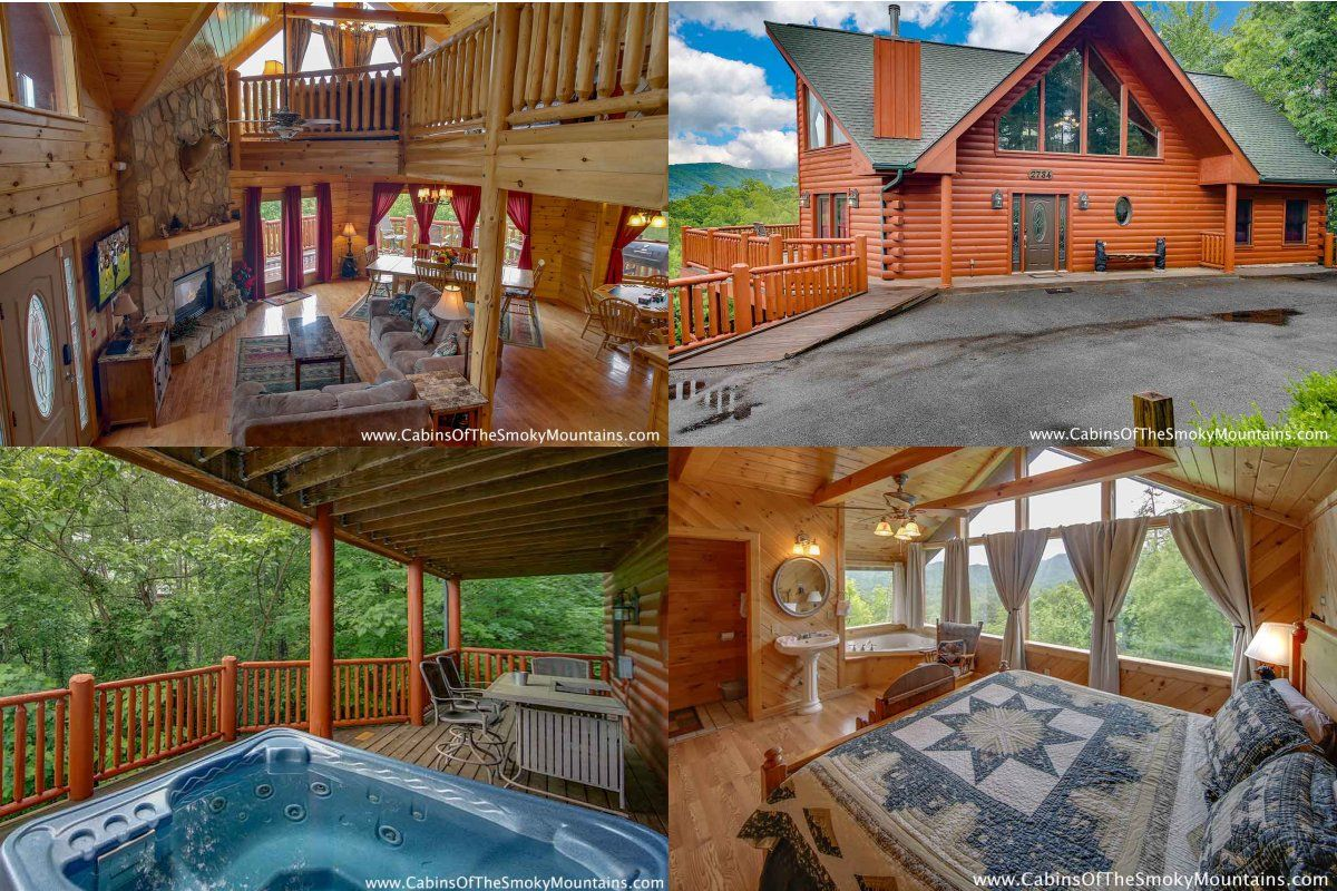 It's Purrfect Getaway, a 5bedroom fun cabin outside of