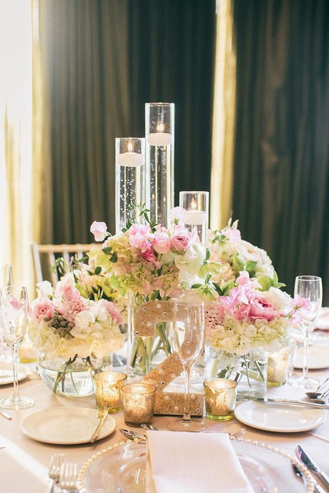 12 Stunning Wedding Centerpieces - Part 21 Bella, Boda y Flor