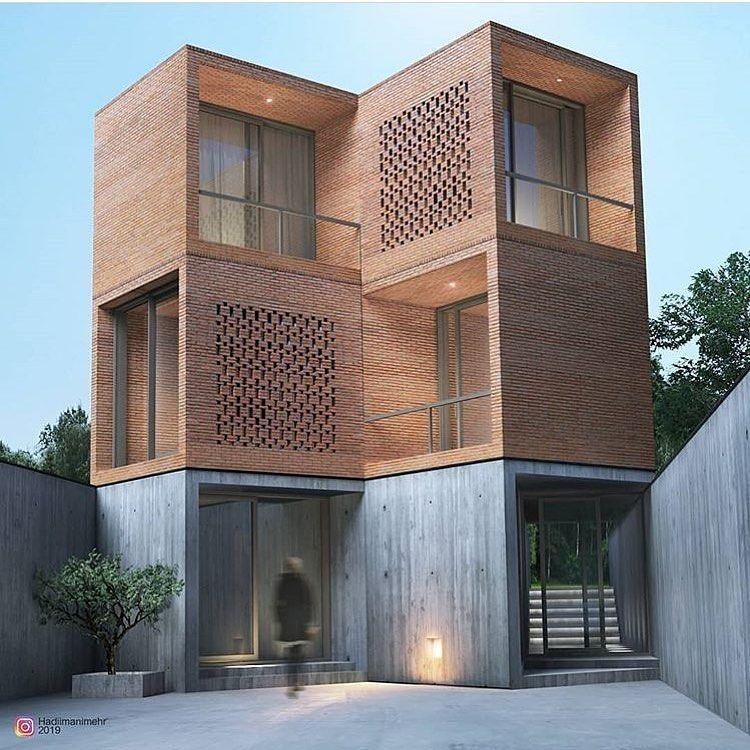 Architecture Com On Instagram Garden House By Hadiimanimehr