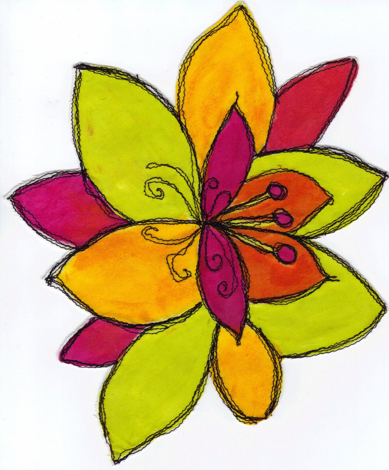 Easy pictures to draw of flowers beautiful flowers drawing easy pictures to draw of flowers beautiful flowers izmirmasajfo