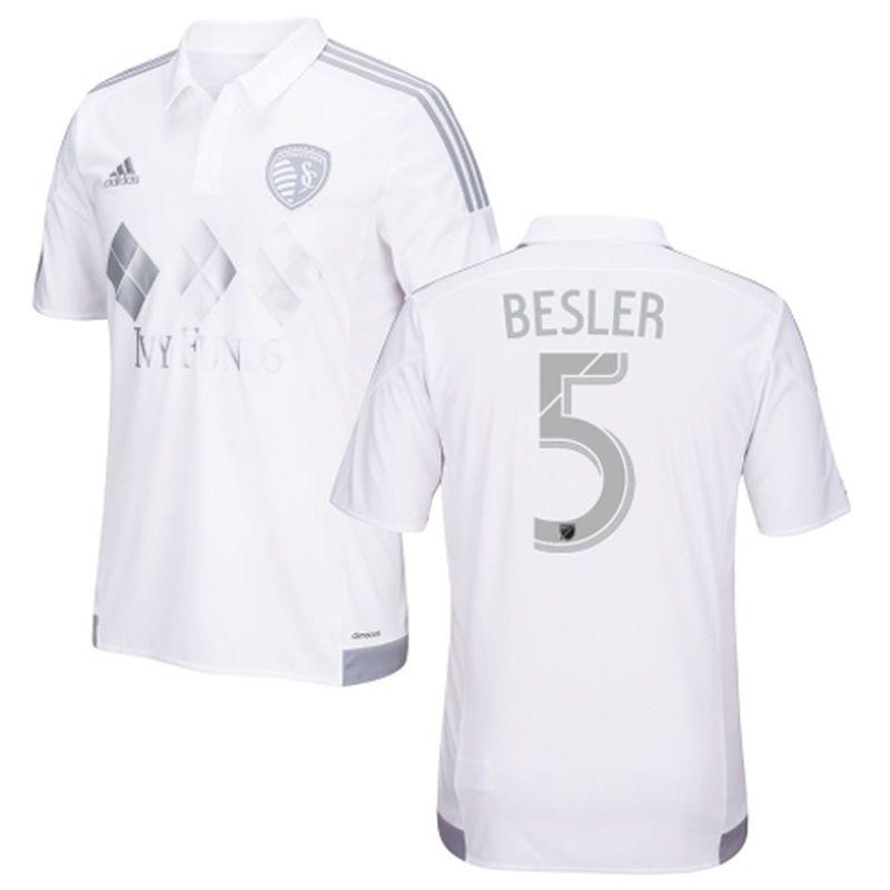 Matt Besler Sporting Kansas City Adidas 2016 Third Replica Jersey White