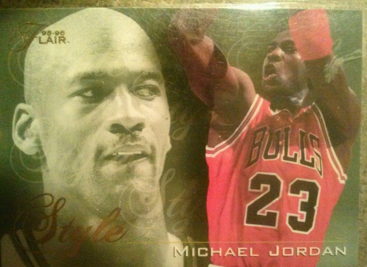 MICHAEL JORDAN 1995/96 95/96 FLAIR