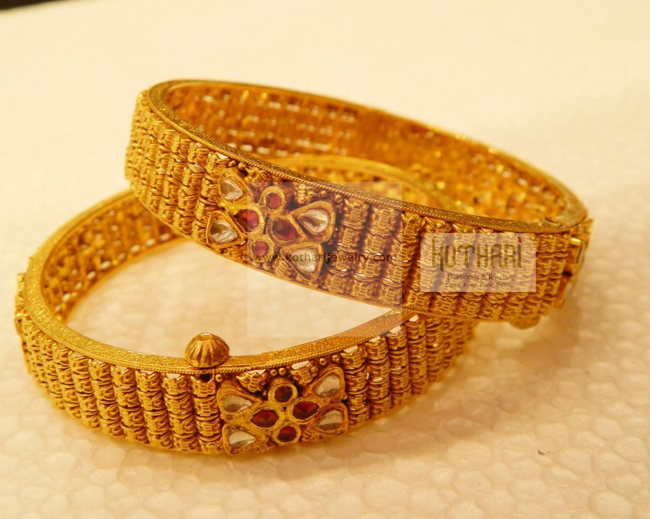 bracelets water bangles gold jewellery bangle bracelet usd kada plain detail product