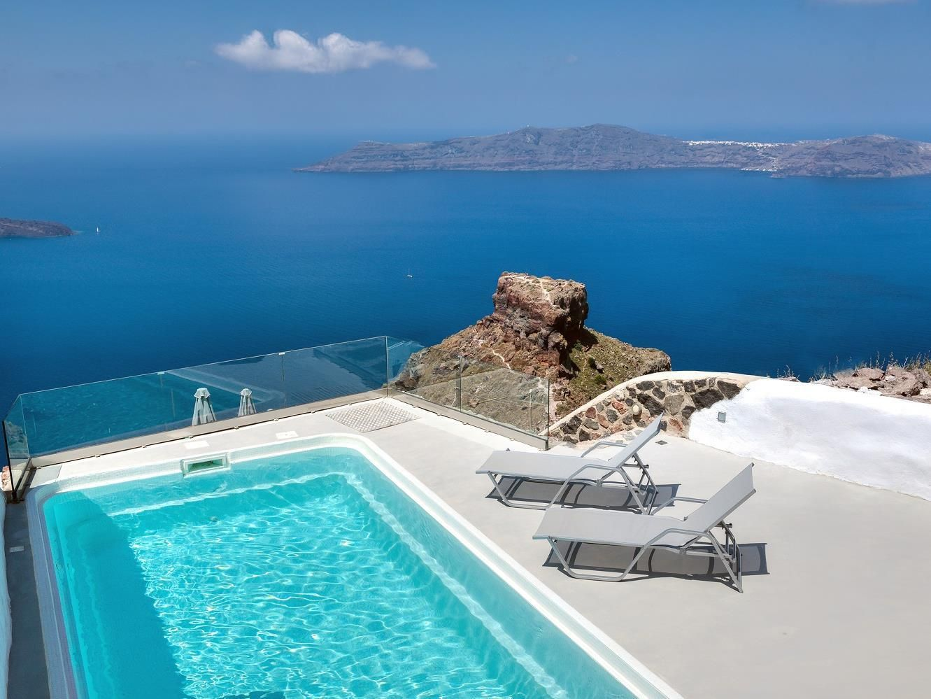 Santorini Spiliotica On The Cliff Hotel Greece Europe Is Conveniently