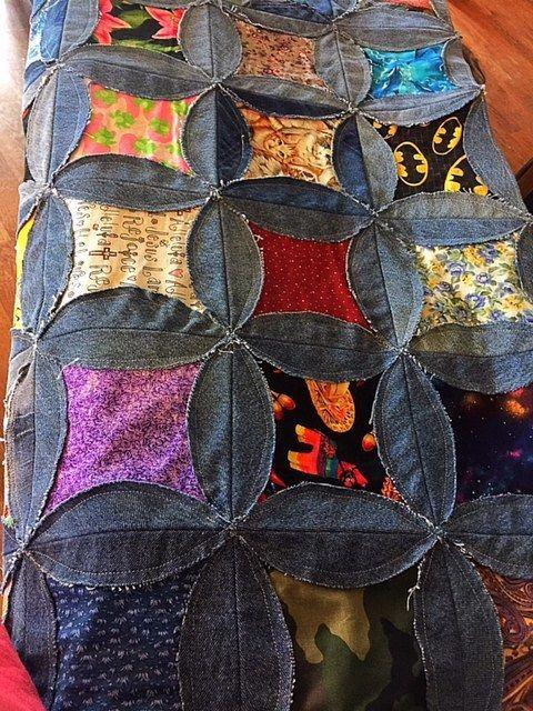 Free Denim Rag Quilt Pattern Rag Quilt Patterns Denim