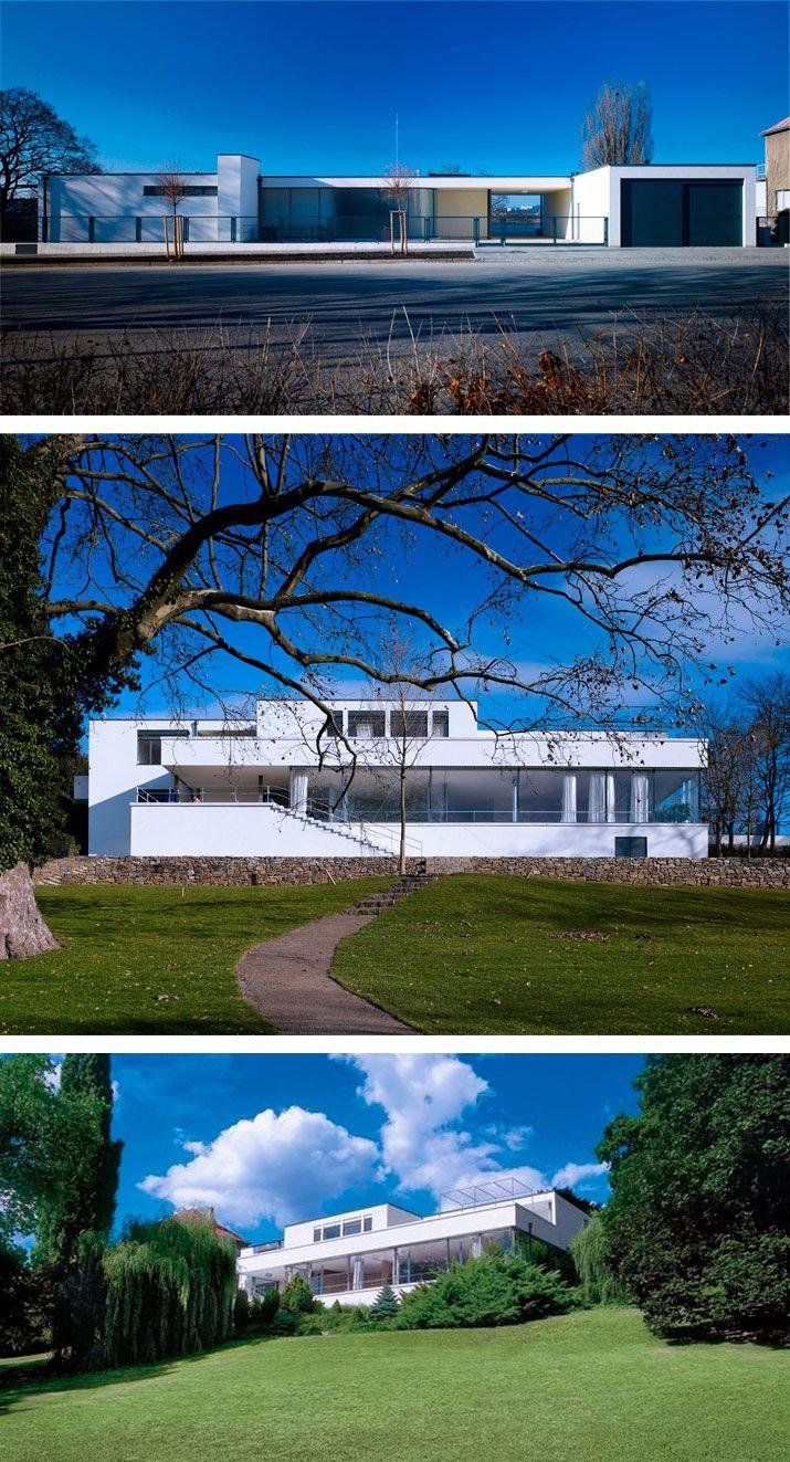 Villa tugendhat arkitalker mies van der rohe - Ludwig Mies Van Der Rohe Villa Tugendhat 1930 Brno Esk Republika
