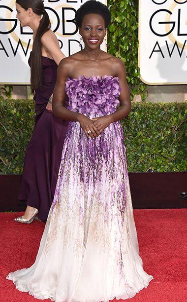 Lupita Nyong'o, no es su mejor momento en una alfombra roja.