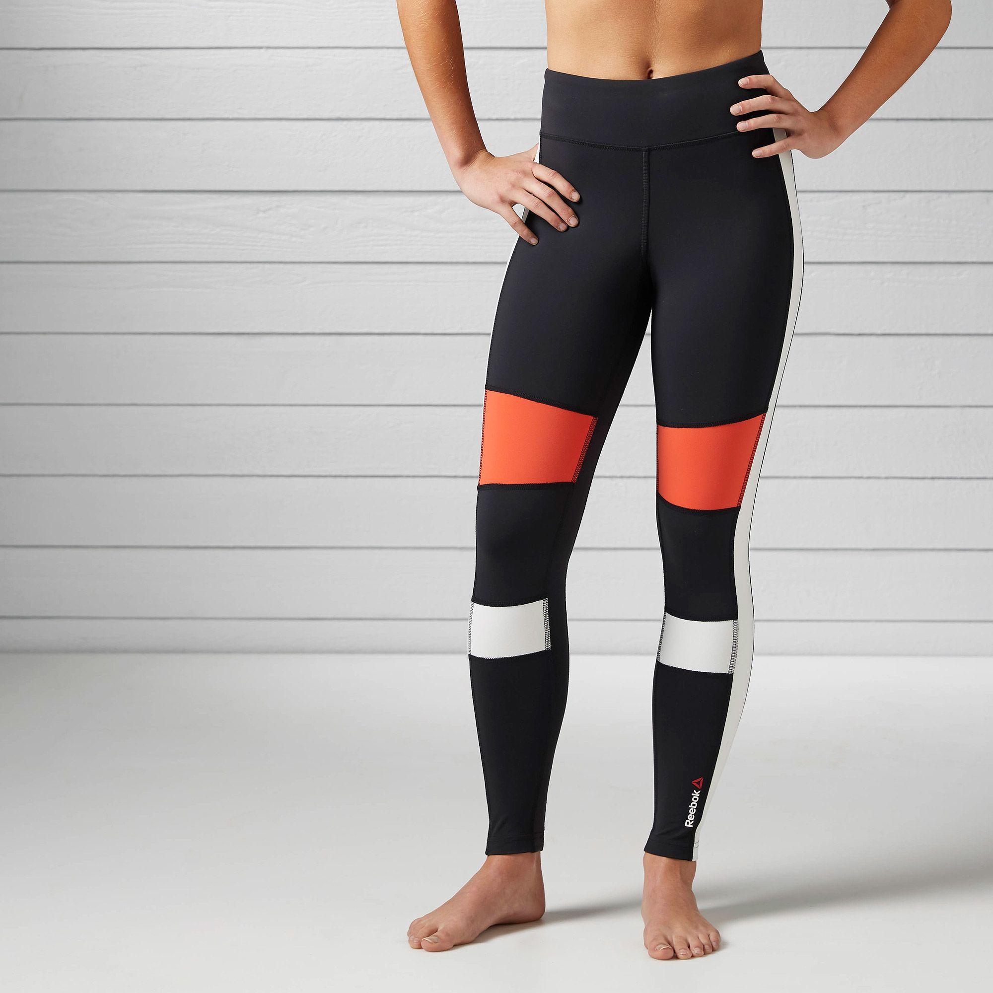 523f5b2878b2d9 Reebok - Women's Speedwick Colour Block Legging   Leggings   Reebok ...