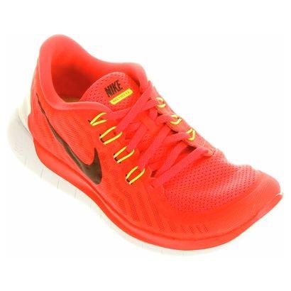5a79790954f Tênis Nike Free 5.0 - Verde Limão