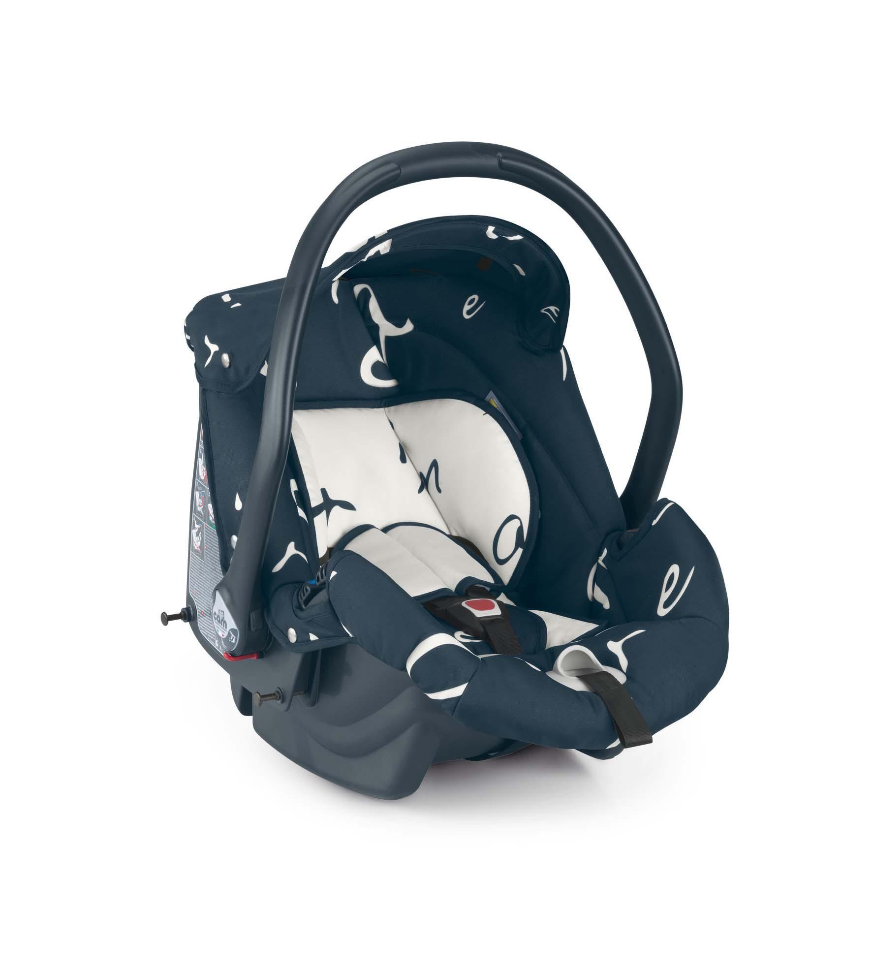 Cam Kinderwagen Fluido Amore Mio dark blue by CAMSPA Italy für Baby und Kind Typo