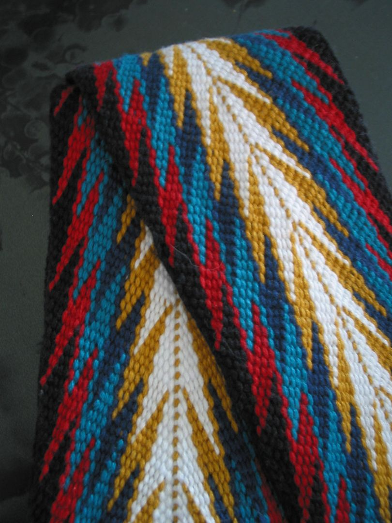 Metis Sash Finger Weaving Finger Weaving Inkle