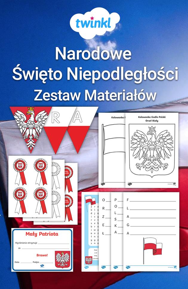 Materialy Na Swieto Niepodleglosci 11 Listopada Szablony I Dekoracje School Projects Education School