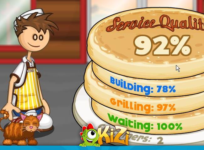 Papa's Pancakeria Kizi Online Games Life Is Fun