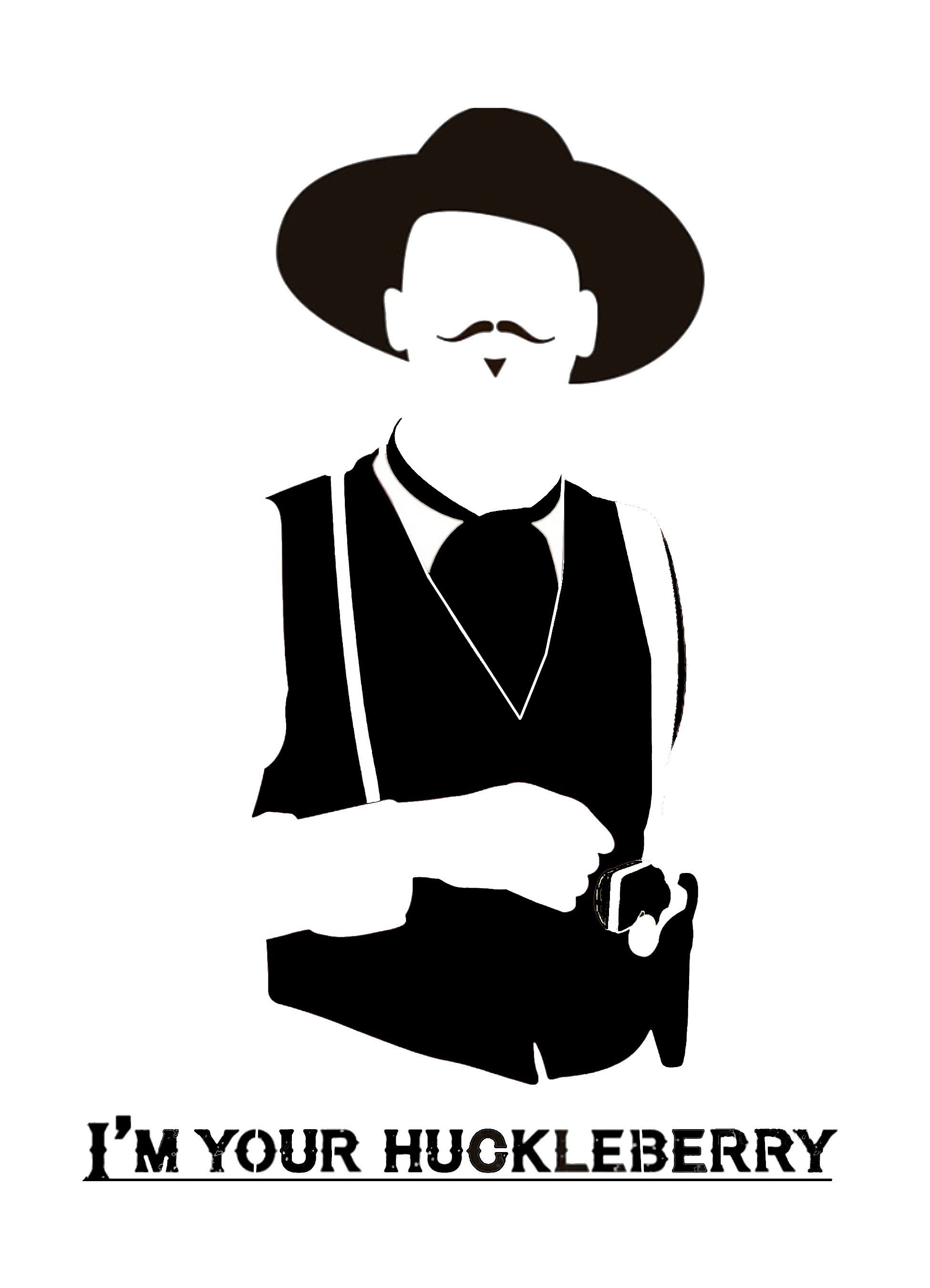 Doc Holiday Tombstone Stencil