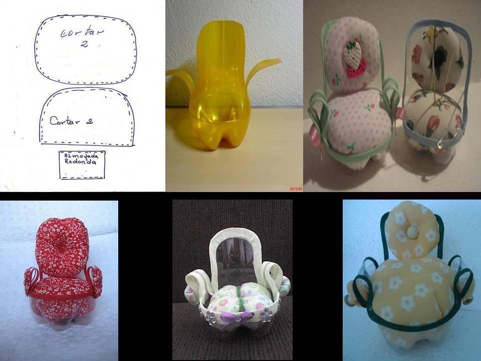 DIY Cute Plastic Bottle Chair | Mefruşat | Pinterest | Miniatur ...