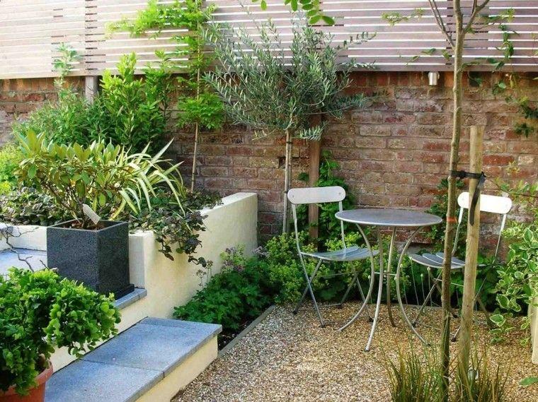 Jardines peque os y patios traseros de dise o nico for Disenos de jardines exteriores pequenos
