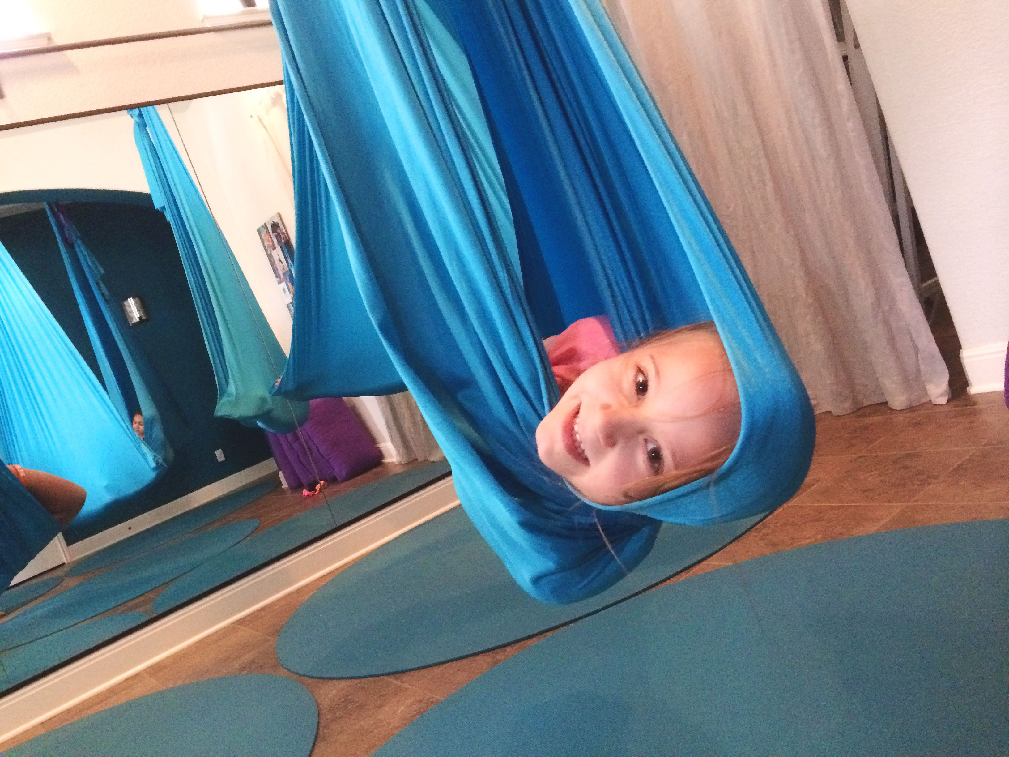 benefits of kids aerial yoga  the  pression of the hammock like a big hug benefits of kids aerial yoga  the  pression of the hammock like      rh   pinterest