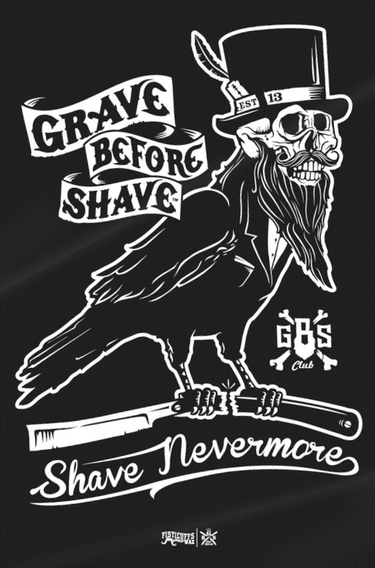 a18ce8aa64dbe Grave Before Shave Nevermore Raven | Beards in 2019 | Mustache wax ...