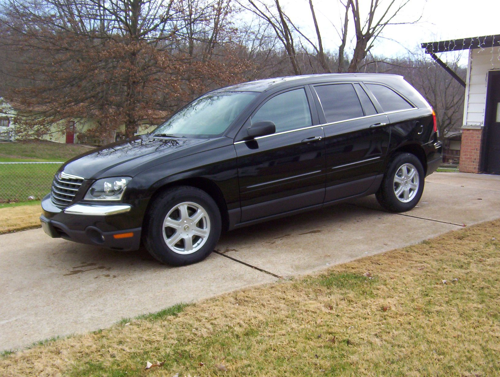 My One Day Old New Chrysler Pacifica Awd Picture Taken 12 06 03