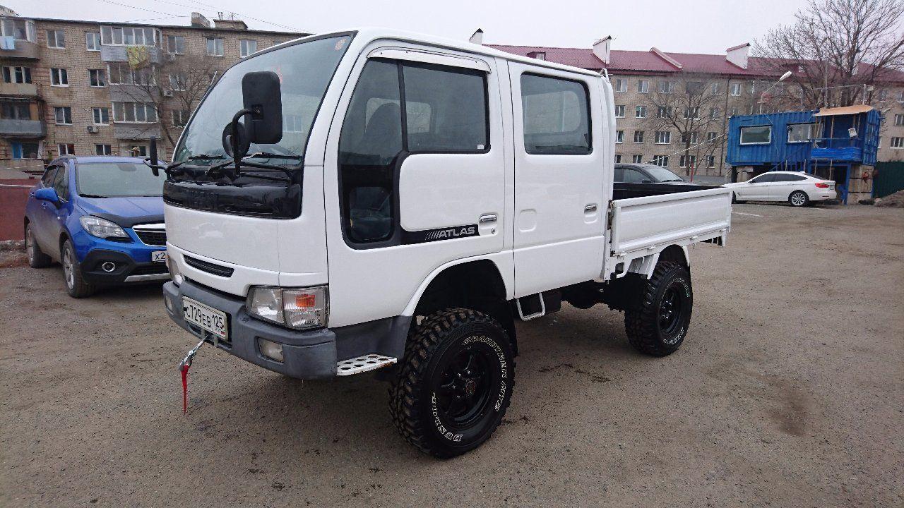 Canter truck sale double cabin 4wd japan import jpn car - On Bridges Nissan Atlas 2001 Trucks Vladivostok