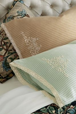 Ticking Stripe Pillowcase Pair (With images) | Pillow cases