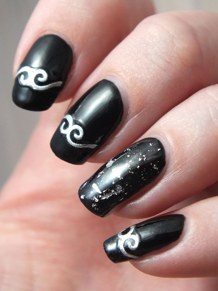 Nail Art Dark Gothique Metal Medieval 3d Nail Art Stickers Embossed